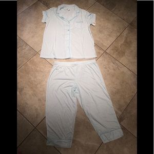 Women's Traditional Short Sleeve Notch Collar PJ.